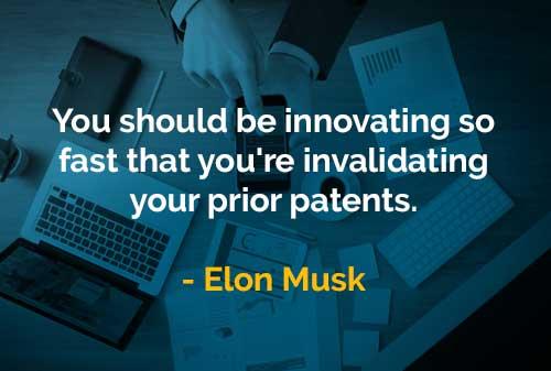 Kata-kata Bijak Elon Musk Harus Berinovasi Dengan Cepat - Finansialku