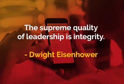 Kata-kata Bijak General Dwight Eisenhower Kualitas Kepemimpinan Tertinggi - Finansialku