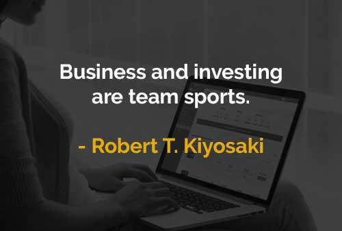 Kata-kata Motivasi Robert T. Kiyosaki Bisnis dan Investasi - Finansialku