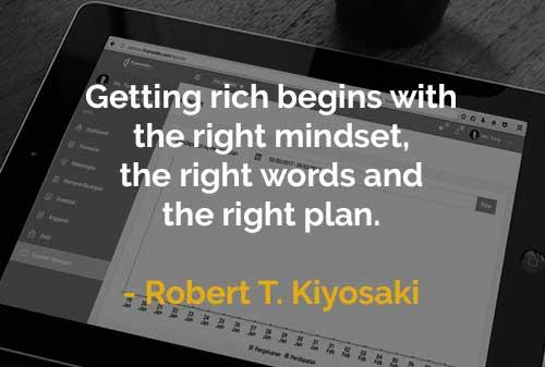 Kata-kata Motivasi Robert T. Kiyosaki Menjadi Orang Kaya - Finansialku