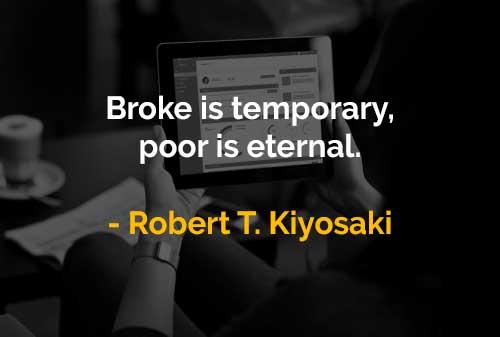 Kata-kata Motivasi Robert T. Kiyosaki Orang Bokek dan Orang Miskin - Finansialku