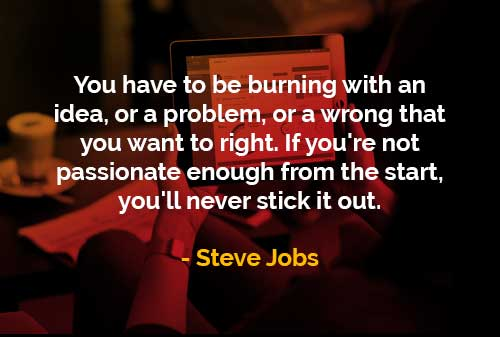 Kata-kata Bijak Steve Jobs Ide, Masalah atau Kesalahan - Finansialku