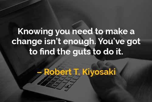 Kata-kata Motivasi Robert T. Kiyosaki Mengetahui Diri Sendiri - Finansialku