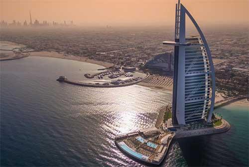 Kehidupan di Dubai 05 Burj Al Arab - Finansialku