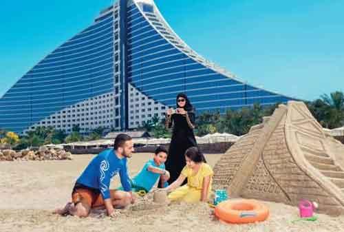 Kehidupan di Dubai 06 Jumeirah Beach - Finansialku