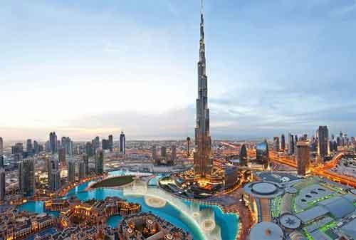 Kehidupan di Dubai 09 Burj Khalifa - Finansialku