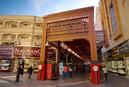Kehidupan di Dubai 10 Gold Souk - Finansialku