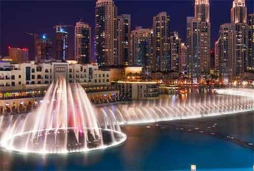 Kehidupan di Dubai 11 Dubai Fountain - Finansialku