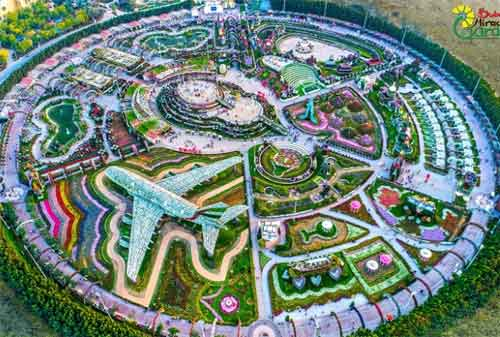 Kehidupan di Dubai 12 Miracle Garden - Finansialku