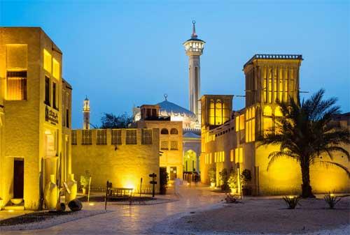 Kehidupan di Dubai 13 Bastakia Quarter - Finansialku