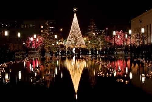 Liburan Natal Luar Negeri