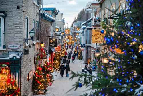 Liburan Natal Quebec City Kanada - Finansialku