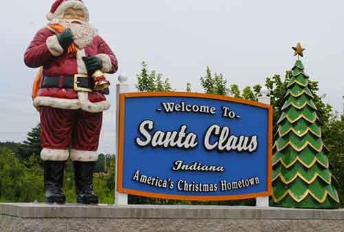 Liburan Natal Santa Claus Indiana - Finansialku