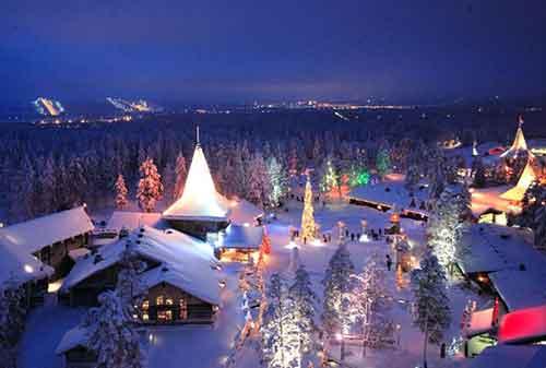 Liburan Natal Santa Claus Village Finlandia - Finansialku