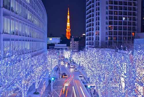 Liburan Natal Tokyo Jepang - Finansialku