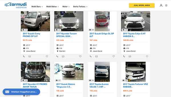 Ribet Jual Mobil Bekas? Coba Beriklan di 8 Website Jual Beli Mobil Bekas Ini 05 Finansialku