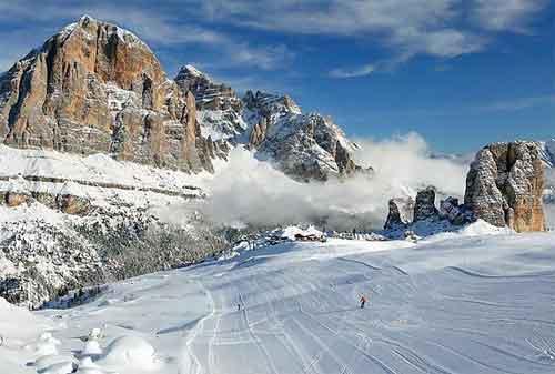 10 Resort Ski Termewah di Dunia 01 Cortina - Finansialku