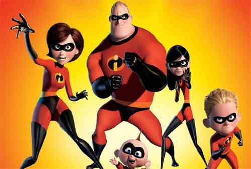 20 Pelajaran Keuangan dari Film Disney 06 The Incredibles - Finansialku