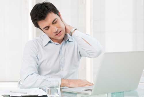 Cara Hidup Sehat Jika Sering Duduk 01 Sakit Leher - Finansialku
