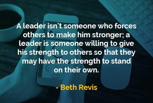 Kata-kata Bijak Beth Revis Memberikan Kekuatannya Kepada Orang Lain - Finansialku