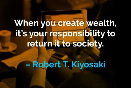 Kata-kata Motivasi Robert T. Kiyosaki Menghasilkan Kekayaan - Finansialku