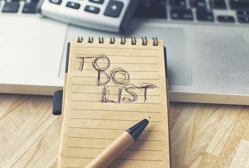 Kebiasaan Orang Sukses 03 to do list Finansialku