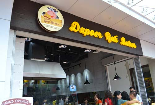 Outlet Franchise Dapoer Roti Bakar