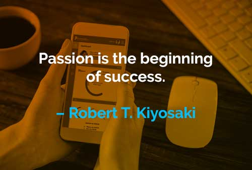 Kata-kata Motivasi Robert T. Kiyosaki Awal dari Kesuksesan - Finansialku