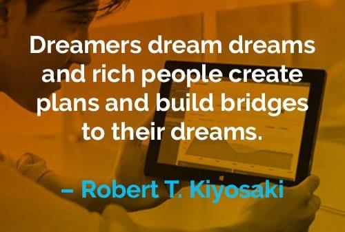 Kata-kata Motivasi Robert T. Kiyosaki Orang Kaya Menciptakan Perencana - Finansialku