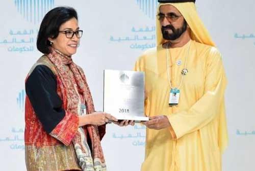 Menteri Keuangan Indonesia, Sri Mulyani Dapat Penghargaan Menteri Terbaik Dunia 02 - Finansialku