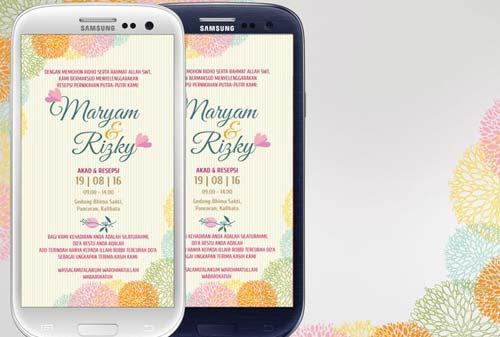 Contoh Undangan Pernikahan Digital