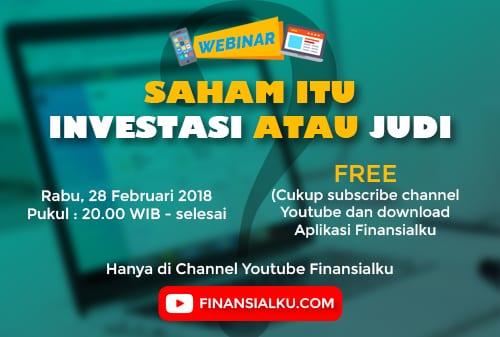 Web 1 - Webinar Saham