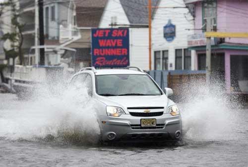 Image result for mobil melawan banjir