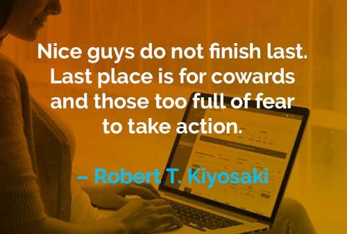 Kata-kata Motivasi Robert T. Kiyosaki Orang yang Baik - Finansialku