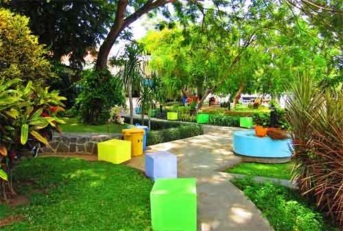 Taman di Surabaya 21 - Taman Ekspresi