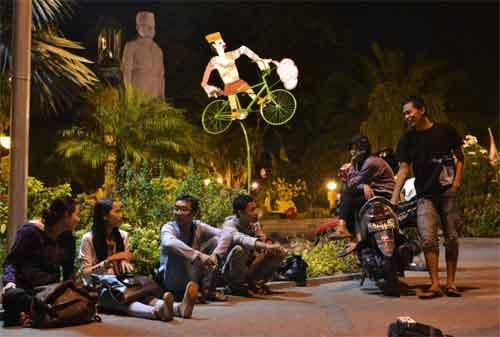 Taman di Surabaya 26 - Taman Apsari