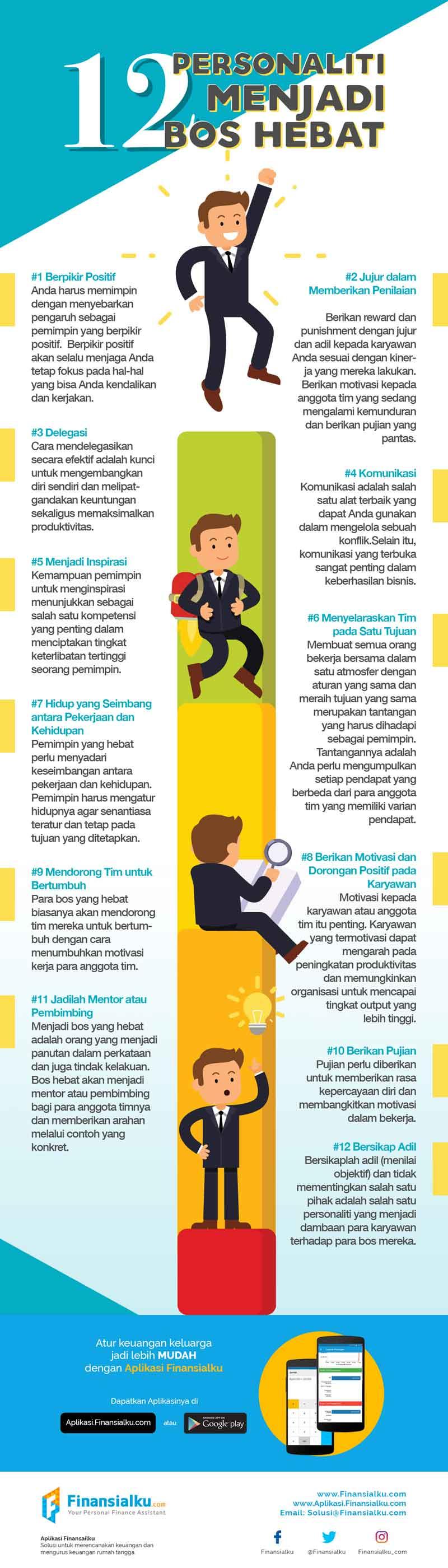 12 Personaliti Menjadi Bos Hebat Untuk Bisnis Anda - Finansialku