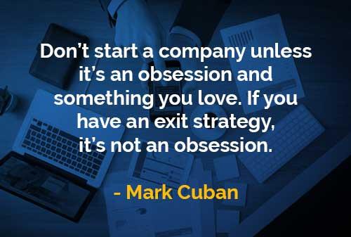 Kata-kata Bijak Mark Cuban Jangan Membangun Perusahaan Kecuali - Finansialku