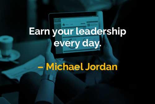 Kata-kata Bijak Michael Jordan Latihlah Kepemimpinan - Finansialku