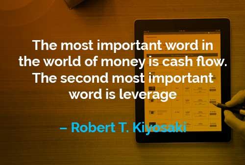 Kata-kata Motivasi Robert T. Kiyosaki Arus Kas - Finansialku