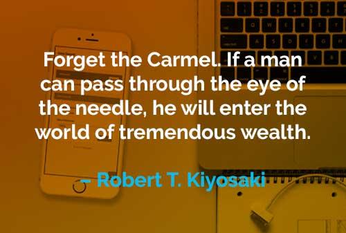 Kata-kata Motivasi Robert T. Kiyosaki Memasuki Dunia dengan Kekayaan - Finansialku