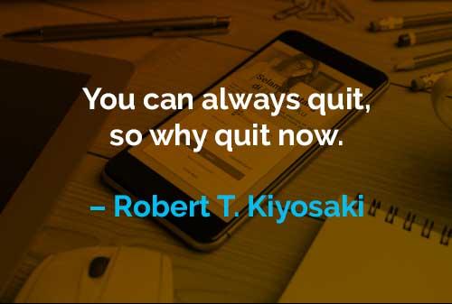 Kata-kata Motivasi Robert T. Kiyosaki Selalu Keluar - Finansialku