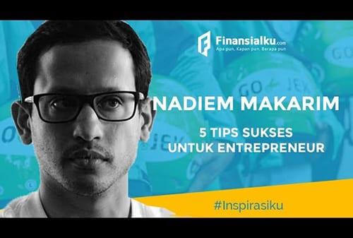 Kisah Sukses Nadiem Makarim