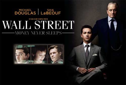 Pelajaran dari Film Wall Street Money Never Sleeps 01 - Finansialku