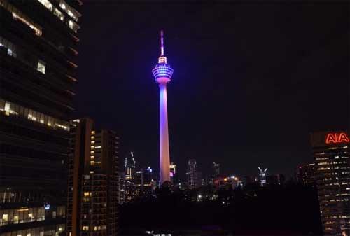 Tempat Wisata di Malaysia 05 Menara Kuala Lumpur - Finansialku