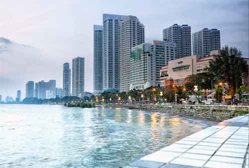 Tempat Wisata di Malaysia 14 Gurney Drive - Finansialku