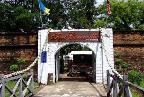 Tempat Wisata di Malaysia 18 Fort Cornwallis - Finansialku