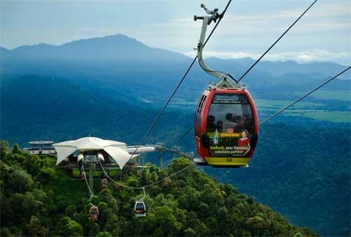Tempat Wisata di Malaysia 19 Langkawi Cable Car - Finansialku
