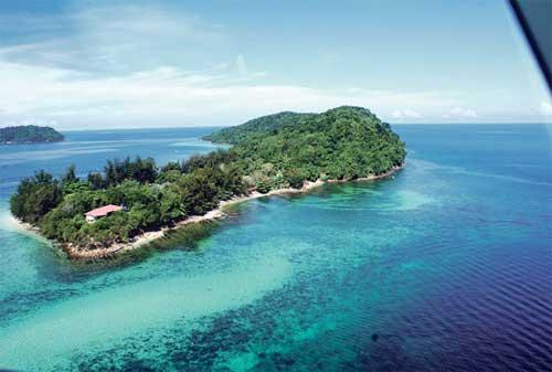 Tempat Wisata di Malaysia 25 Pulau Manukan - Finansialku