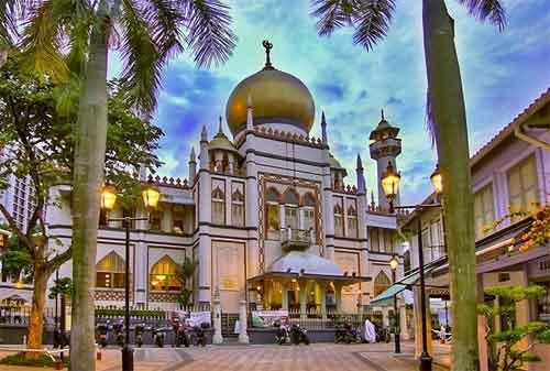 Tempat Wisata di Singapura 02 Masjid Sultan - Finansialku